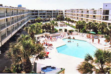 PortAransas Condos, La Mirage Pool
